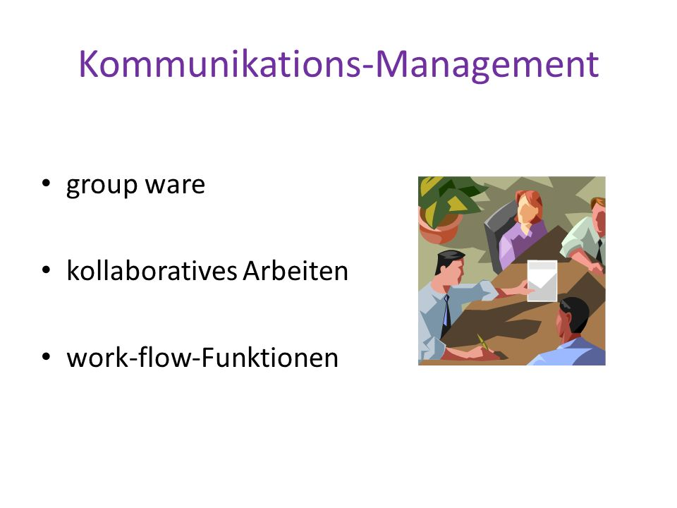 Kommunikations-Management