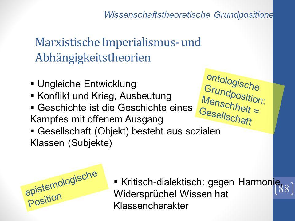 Marxistische Imperialismus- und Abhängigkeitstheorien