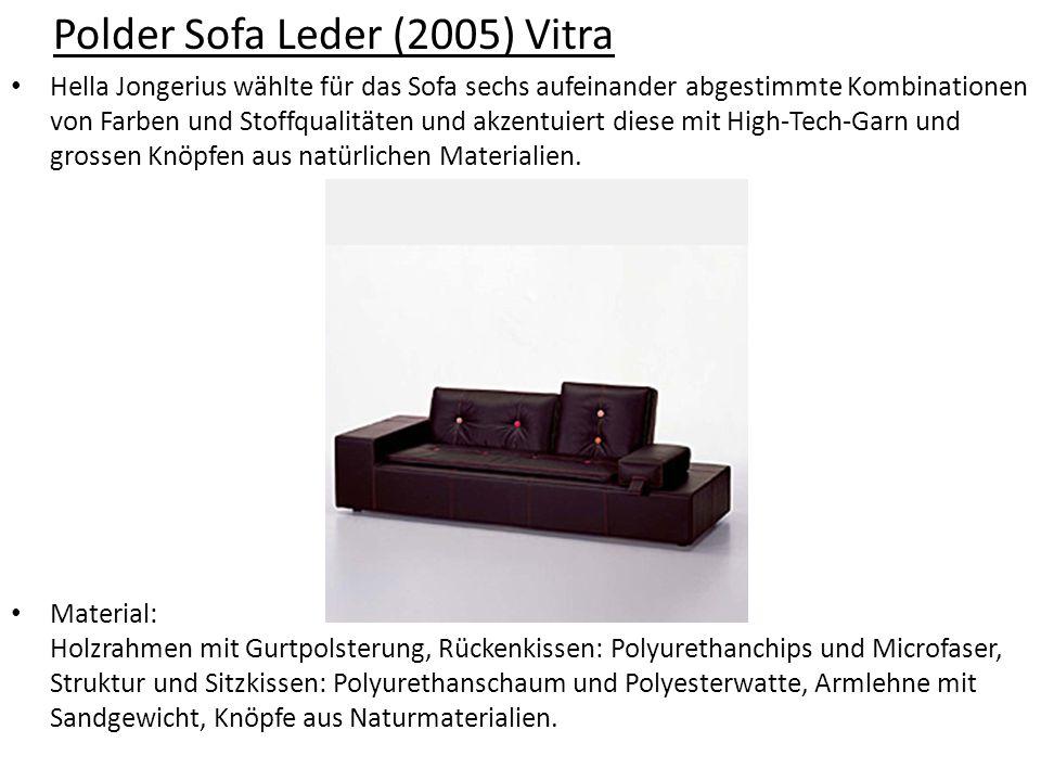 Polder Sofa Leder (2005) Vitra