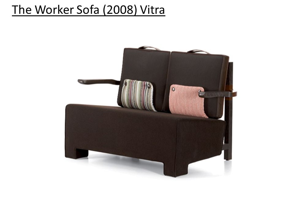 The Worker Sofa (2008) Vitra
