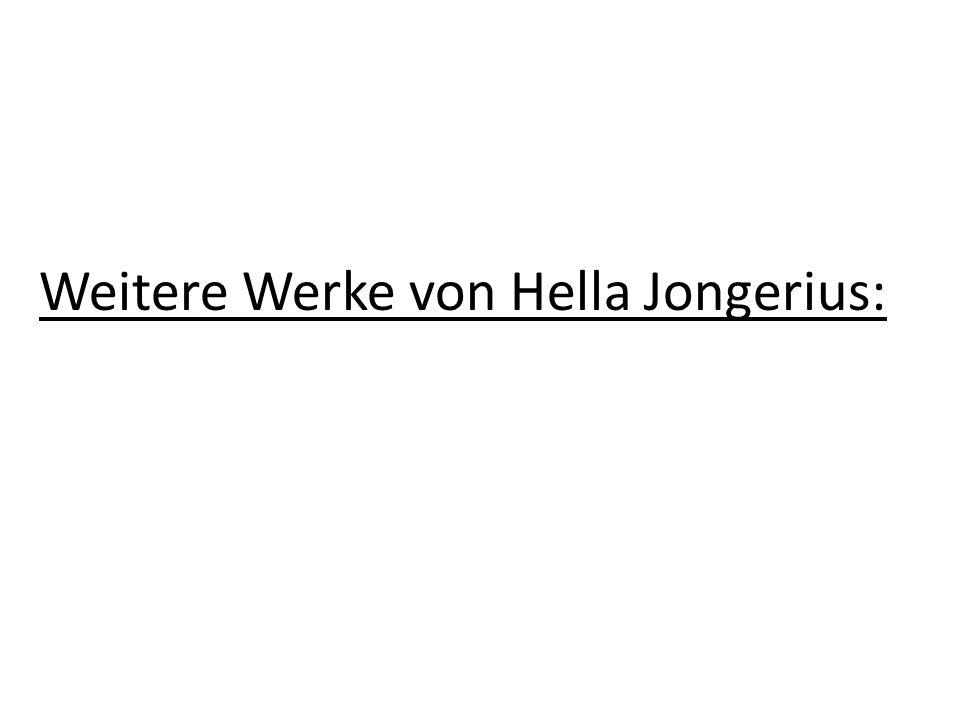 Weitere Werke von Hella Jongerius: