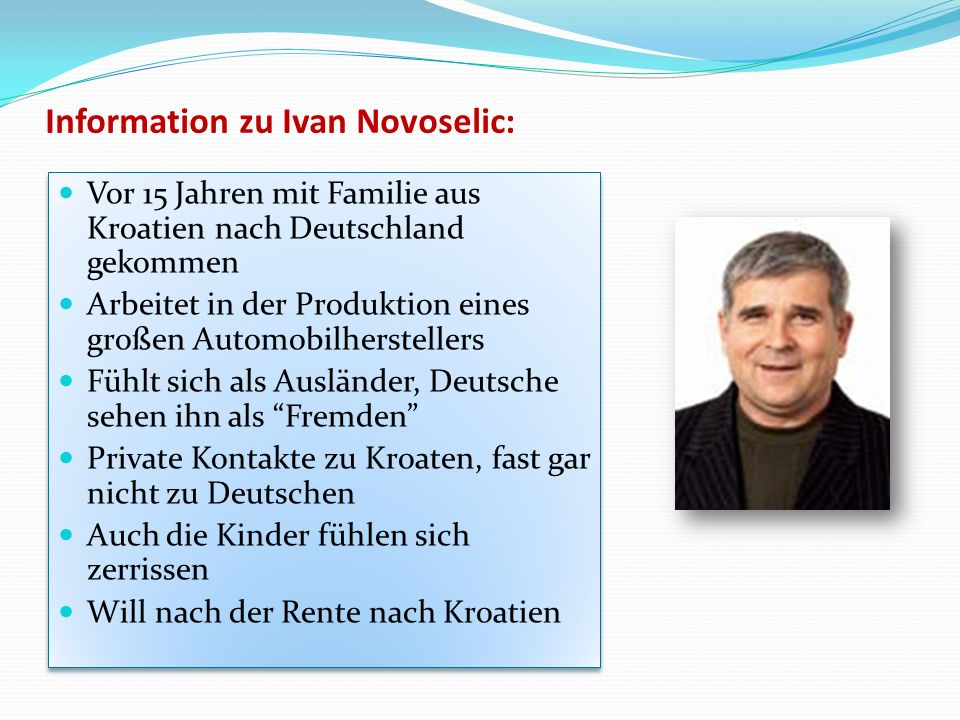 Information zu Ivan Novoselic: