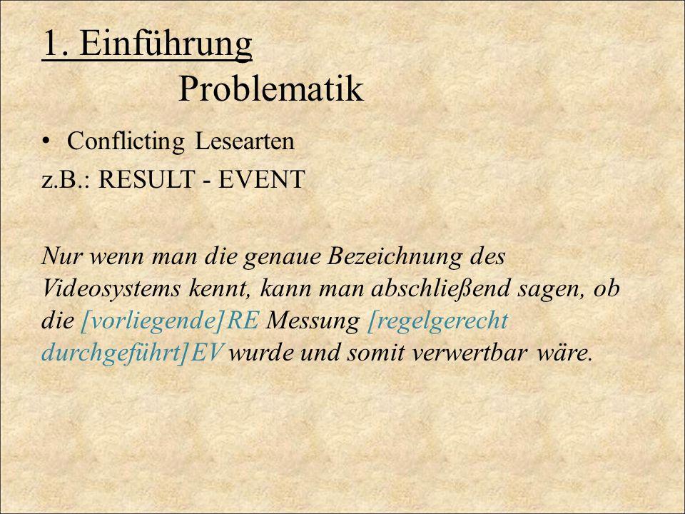 1. Einführung Problematik