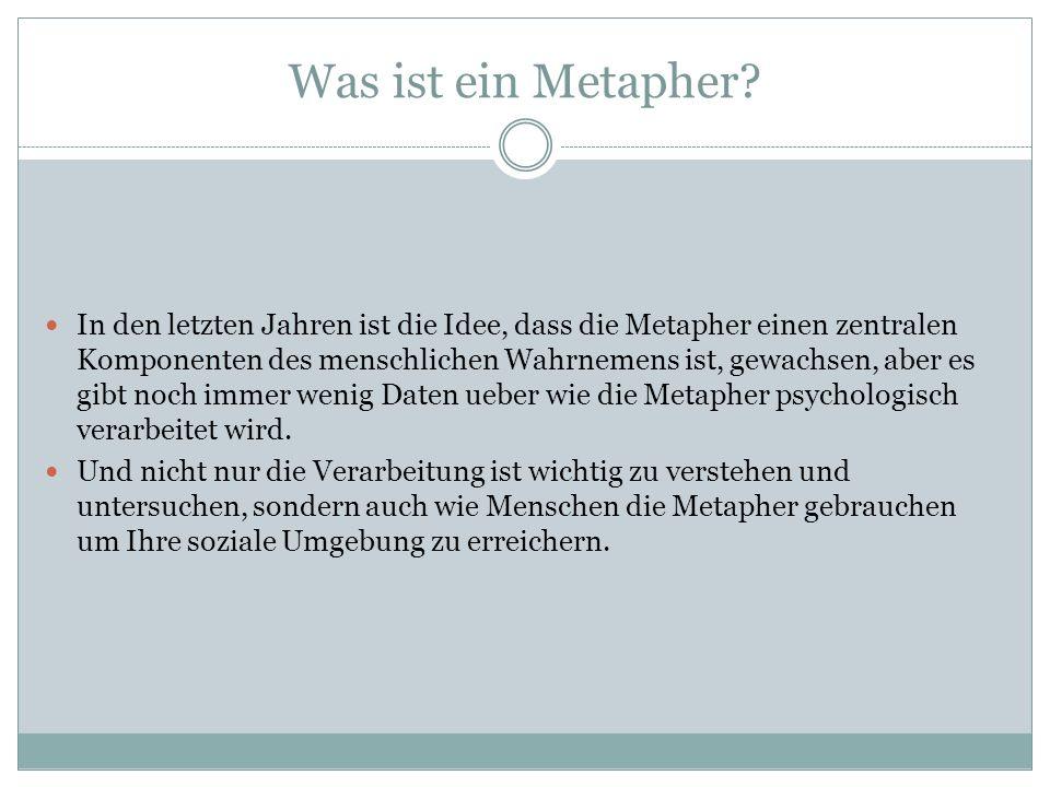Was ist ein Metapher