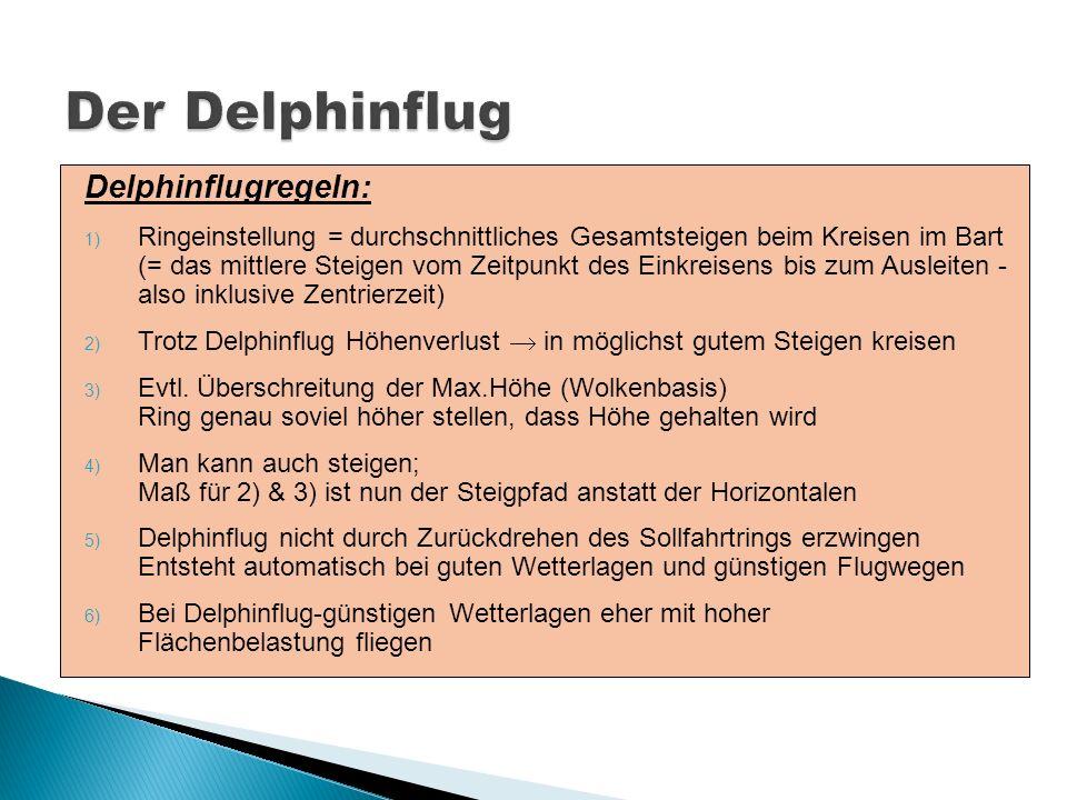 Der Delphinflug Delphinflugregeln: