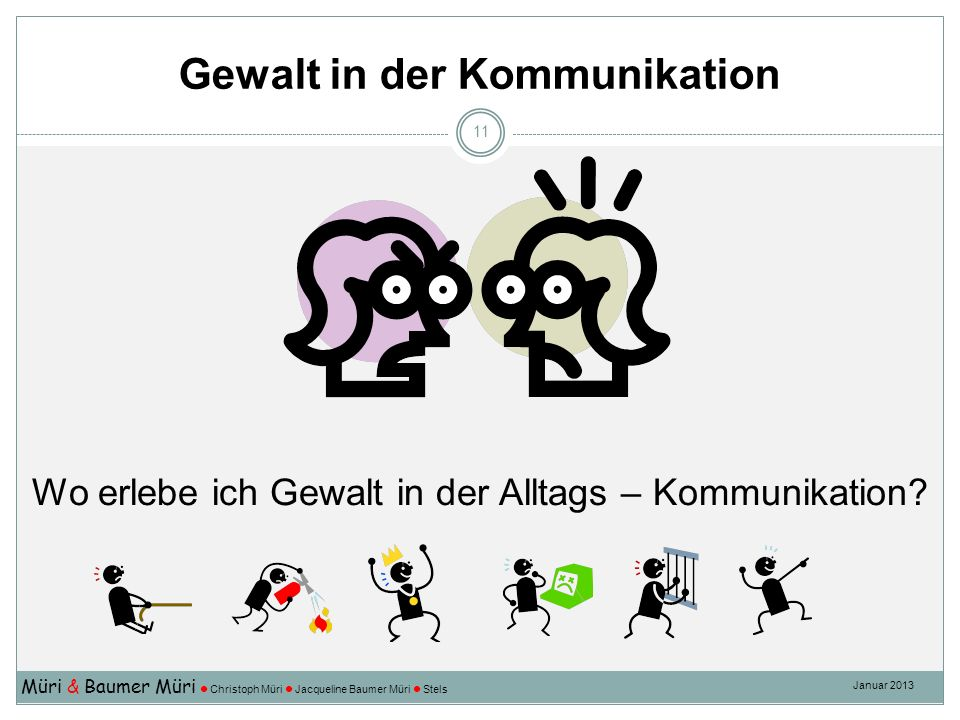 Gewalt in der Kommunikation