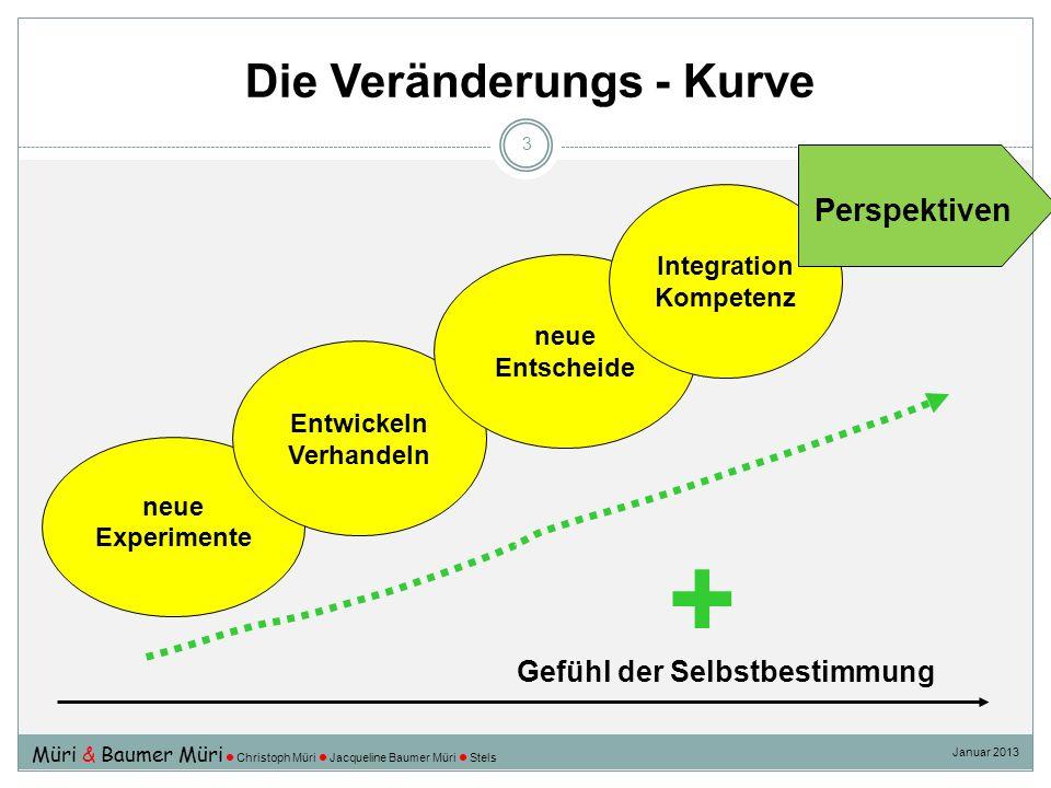 Die Veränderungs - Kurve