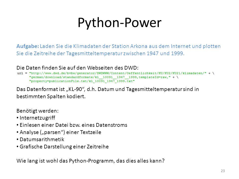 Python-Power