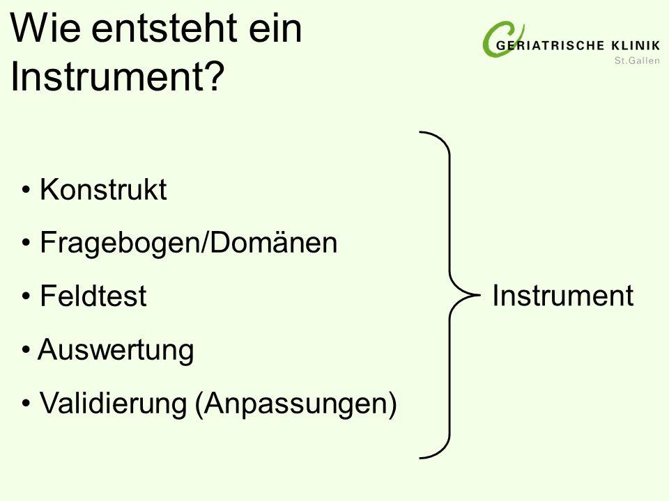 Wie entsteht ein Instrument