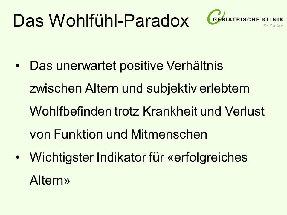 Das Wohlfühl-Paradox