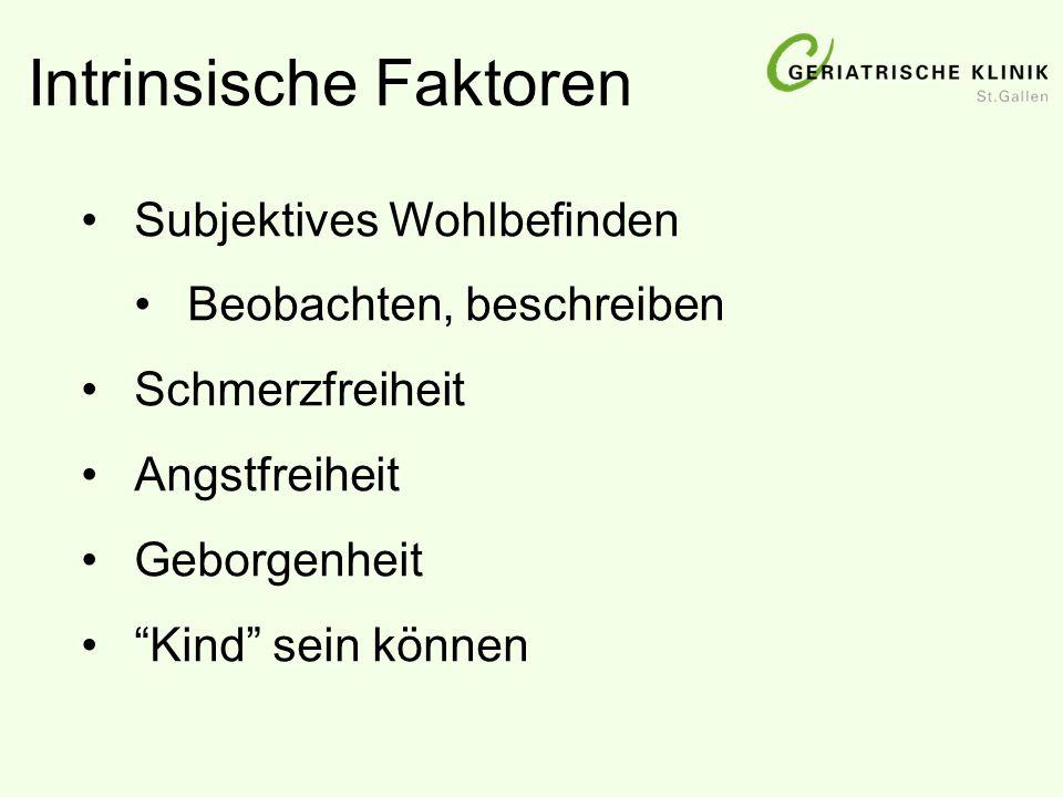 Intrinsische Faktoren