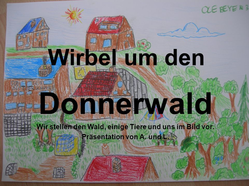 Donnerwald Wirbel um den