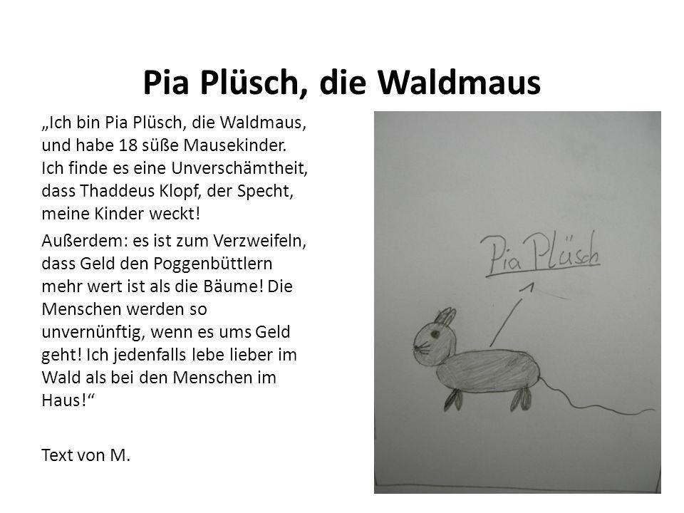 Pia Plüsch, die Waldmaus