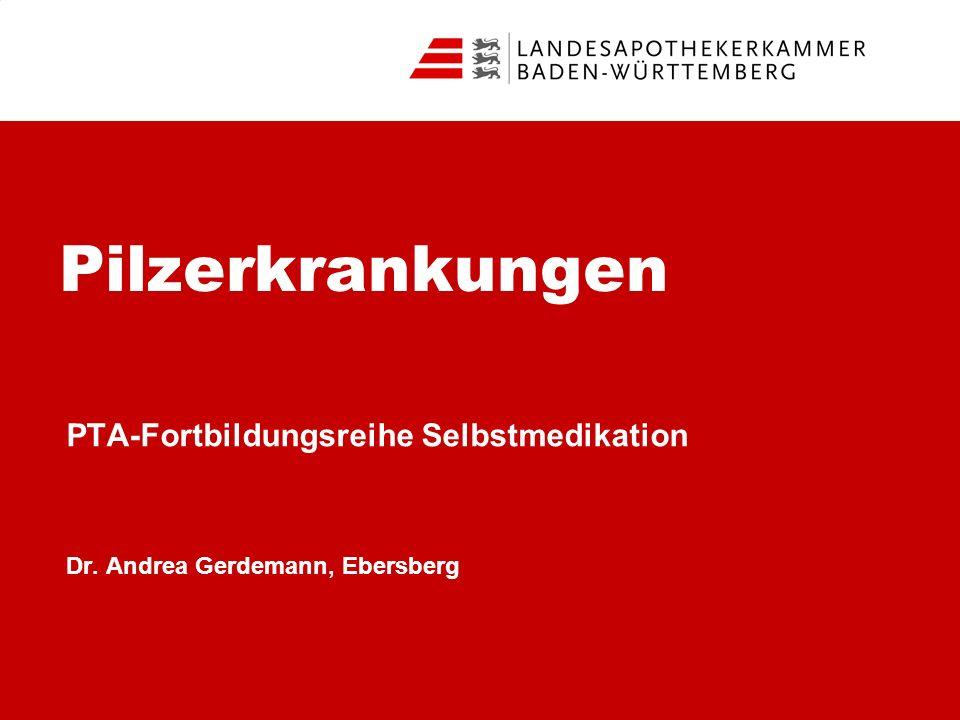 PTA-Fortbildungsreihe Selbstmedikation Dr. Andrea Gerdemann, Ebersberg