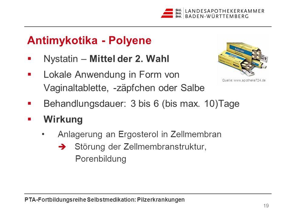 Antimykotika - Polyene