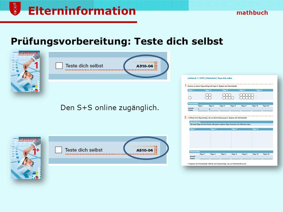 Prüfungsvorbereitung: Teste dich selbst