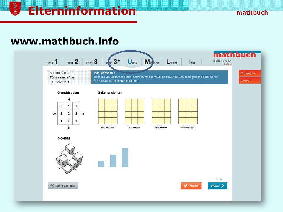 www.mathbuch.info Vielfältige Übungsmöglichkeiten gibt es zusätzlich auch zum täglichen Kopfrechnen bzw.