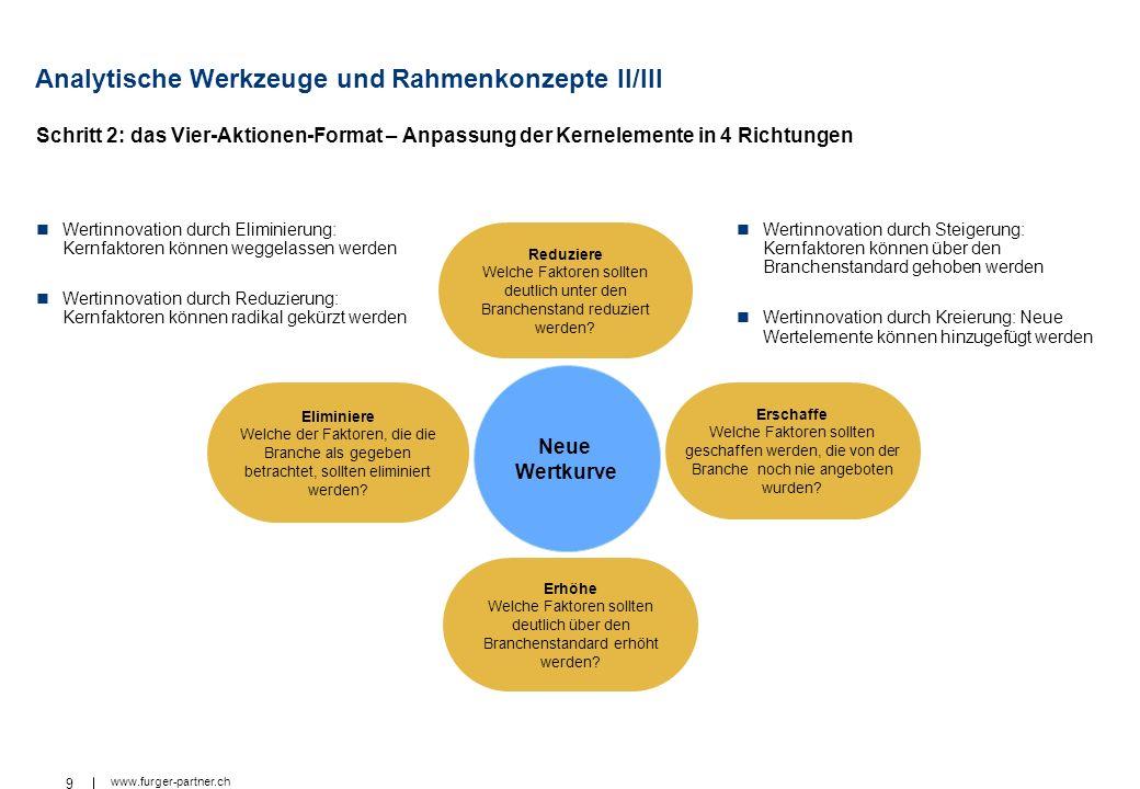 Analytische Werkzeuge und Rahmenkonzepte II/III
