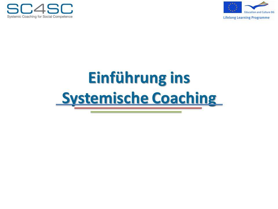 Einführung ins Systemische Coaching