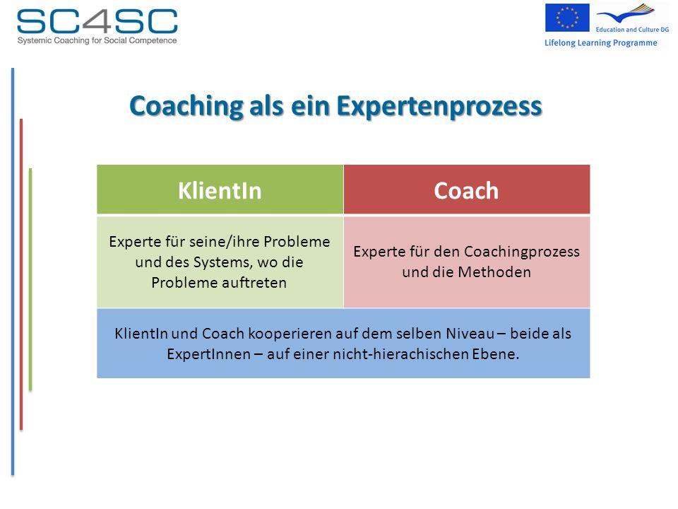 Coaching als ein Expertenprozess