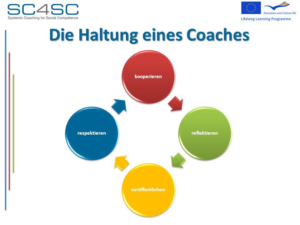 Die Haltung eines Coaches