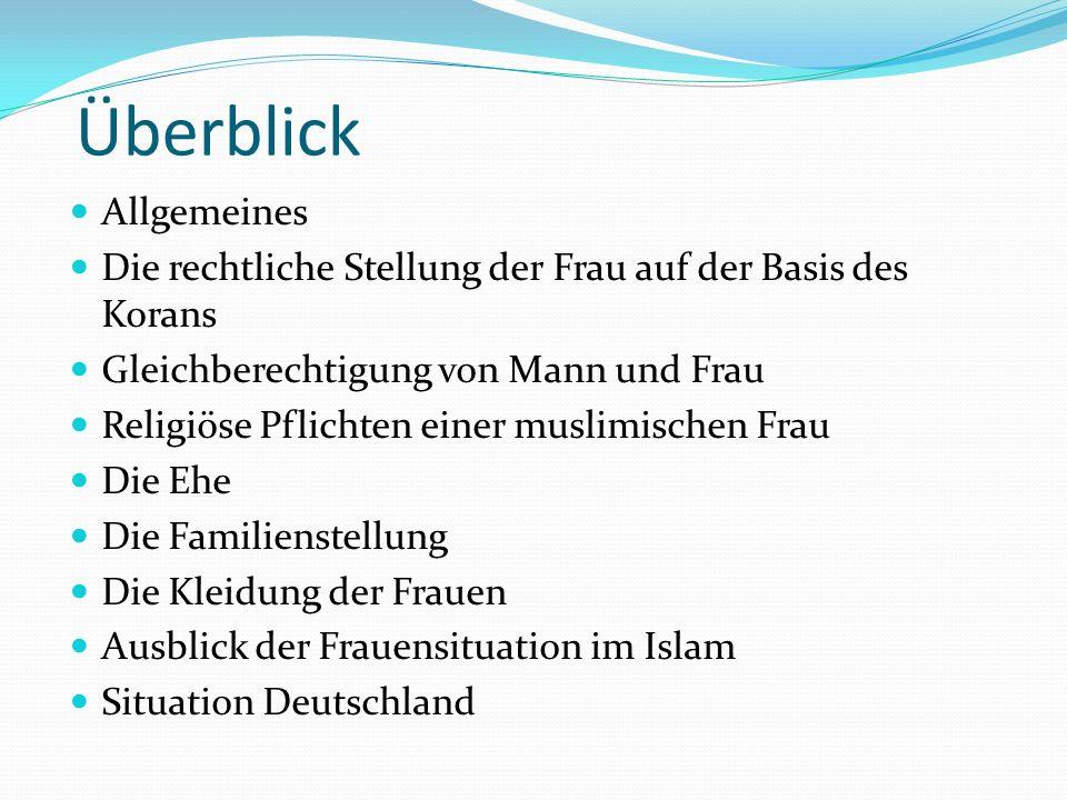 Überblick Allgemeines