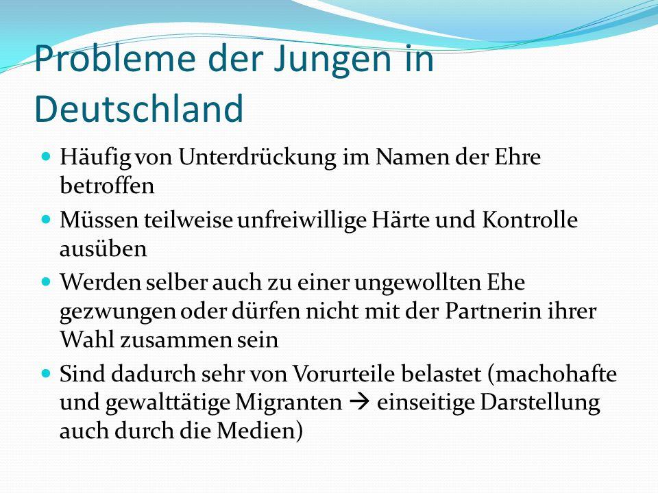 Probleme der Jungen in Deutschland