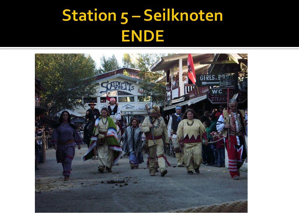 Station 5 – Seilknoten ENDE
