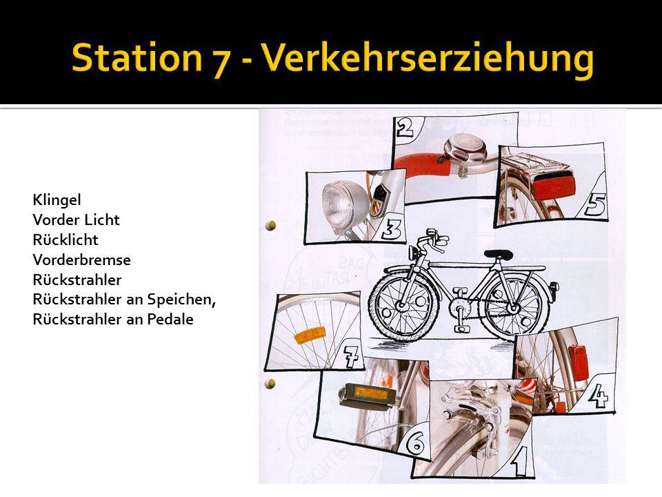 Station 7 - Verkehrserziehung