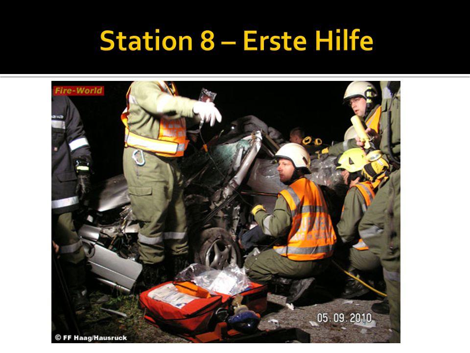Station 8 – Erste Hilfe