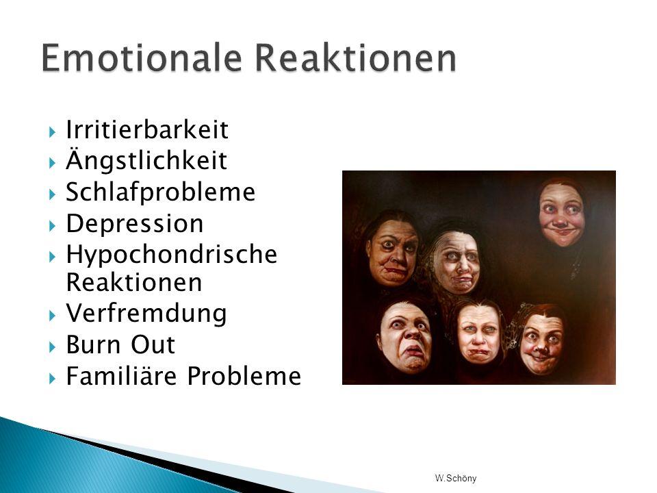 Emotionale Reaktionen
