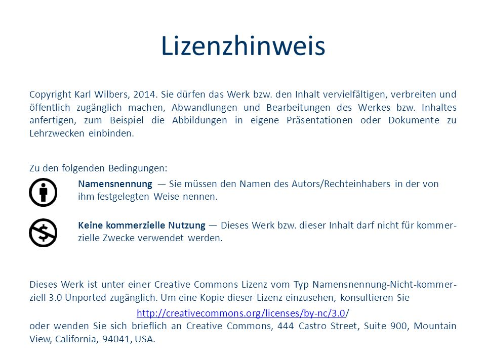 Lizenzhinweis