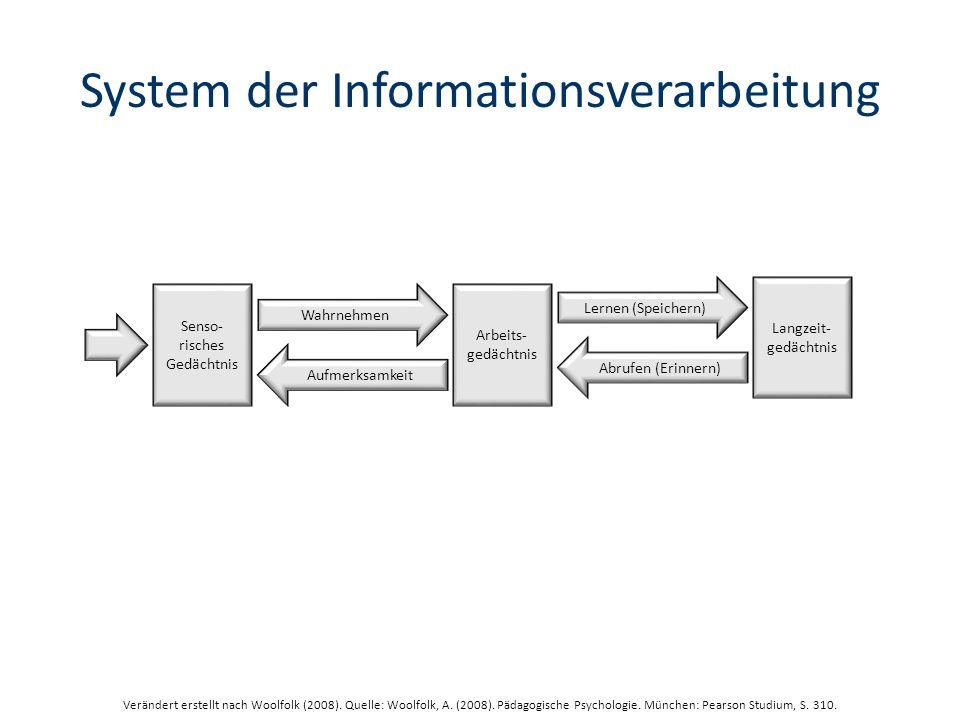 System der Informationsverarbeitung