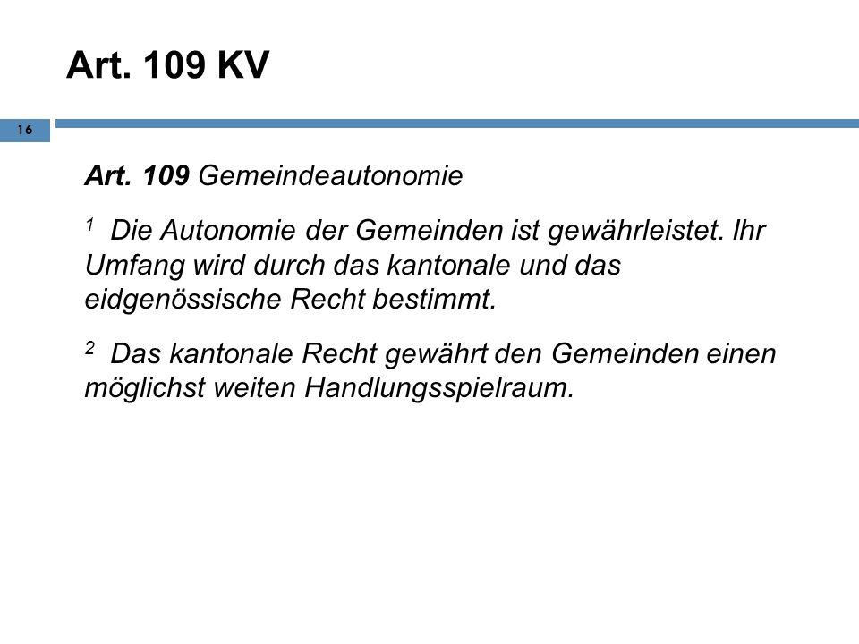 Art. 109 KV