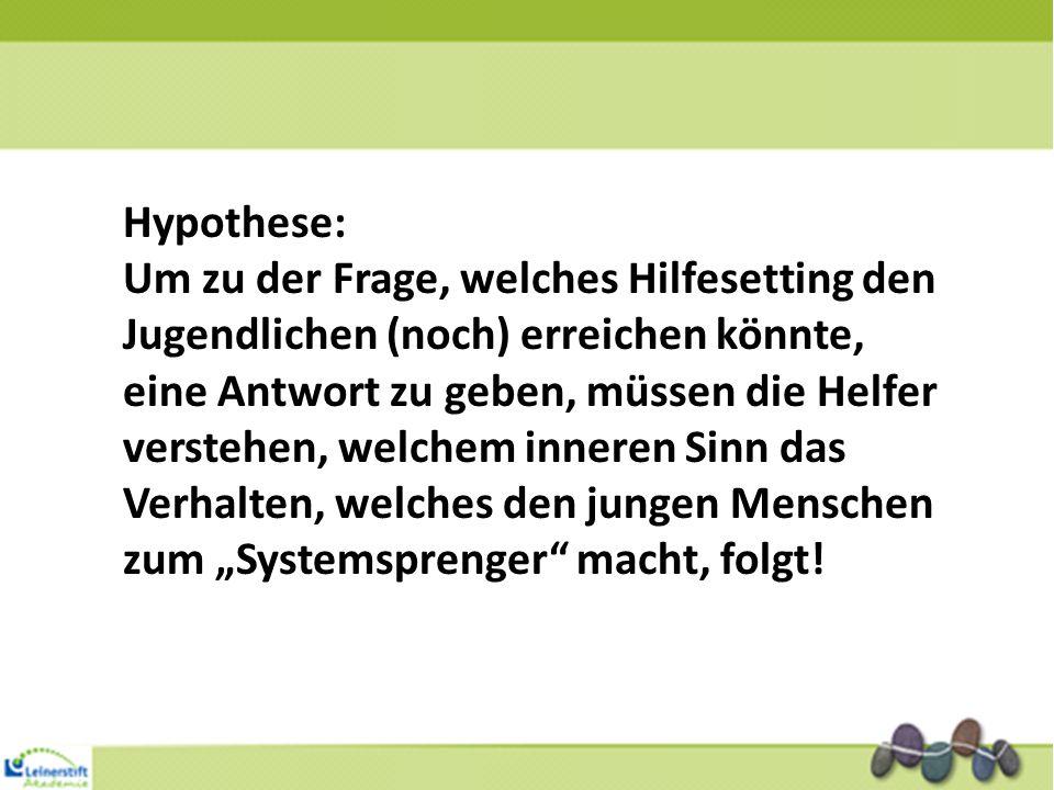 Hypothese: