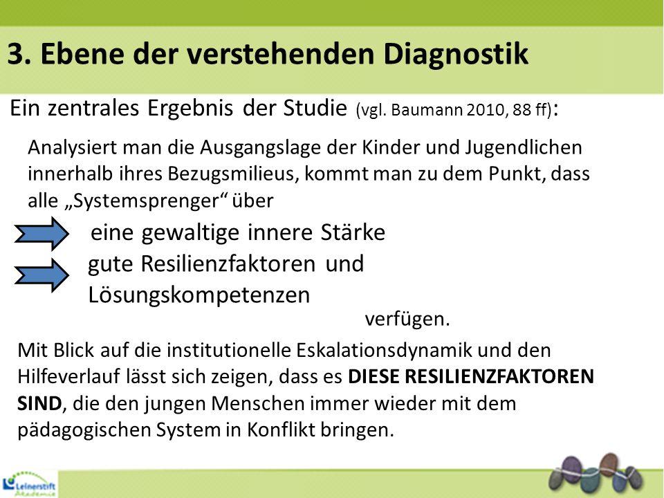 3. Ebene der verstehenden Diagnostik