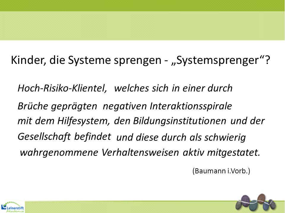 """Kinder, die Systeme sprengen - """"Systemsprenger"""