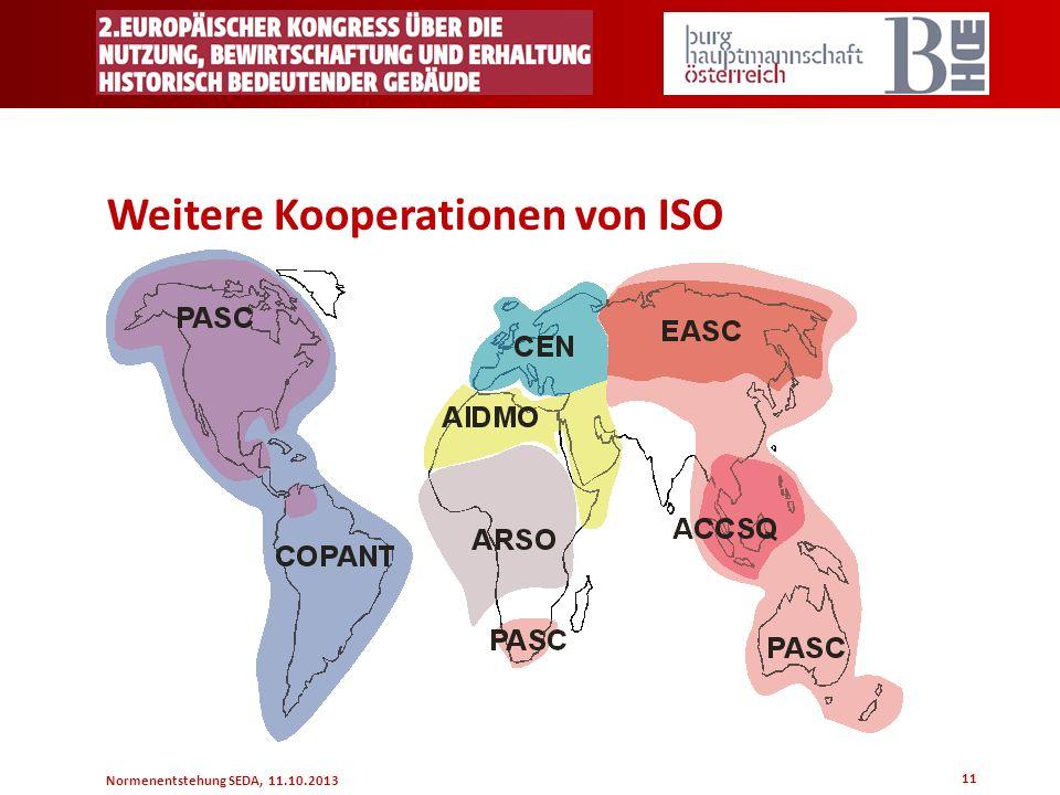 Weitere Kooperationen von ISO