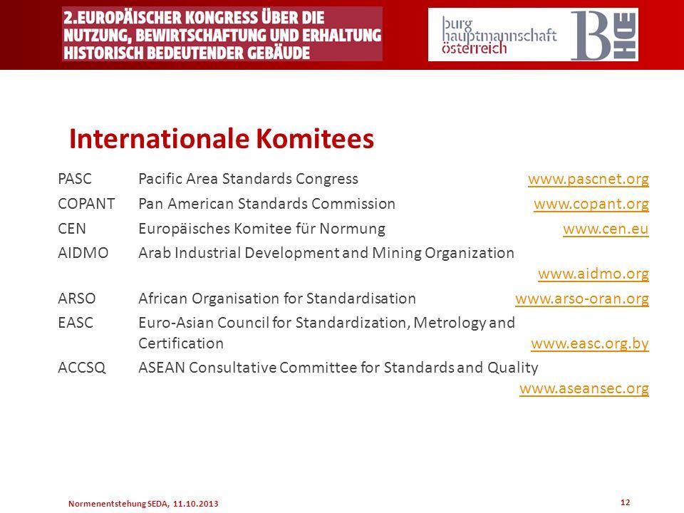 Internationale Komitees
