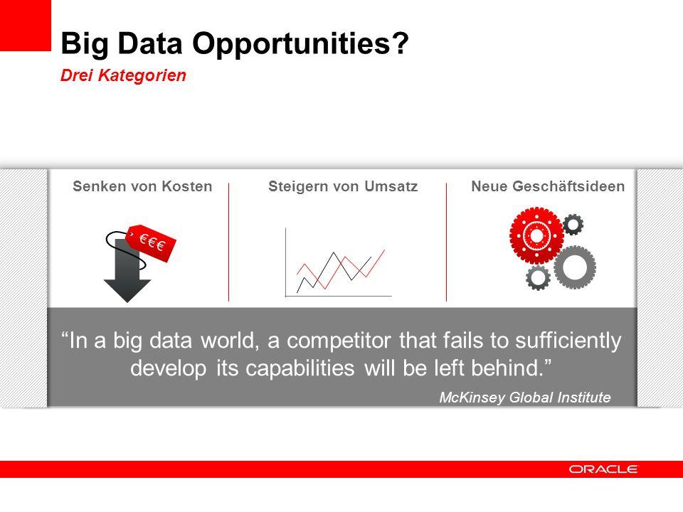Big Data Opportunities