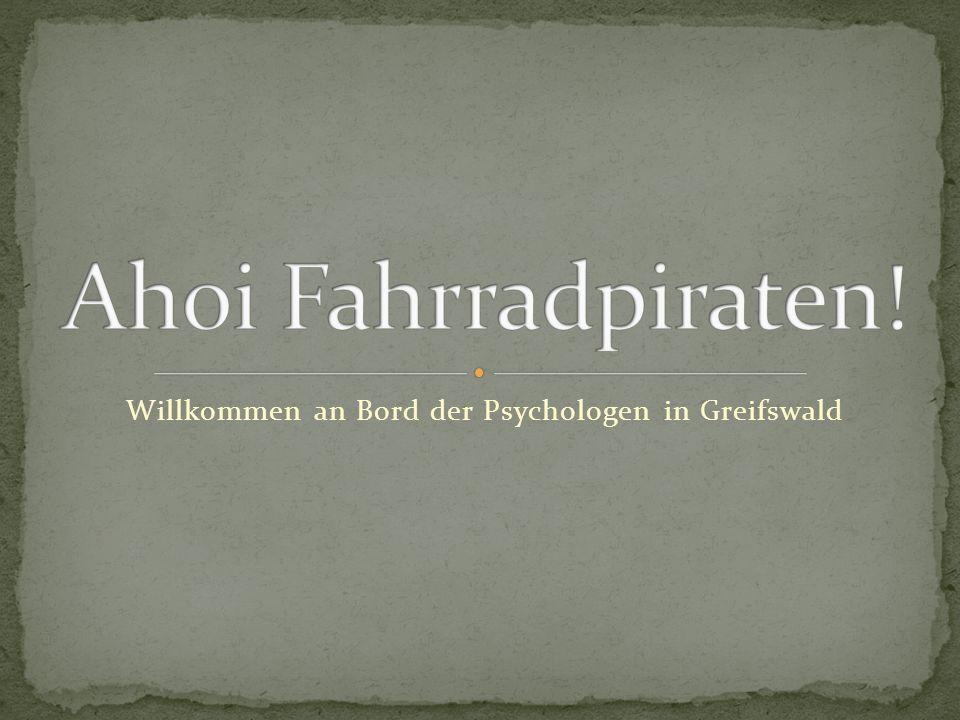 Willkommen an Bord der Psychologen in Greifswald