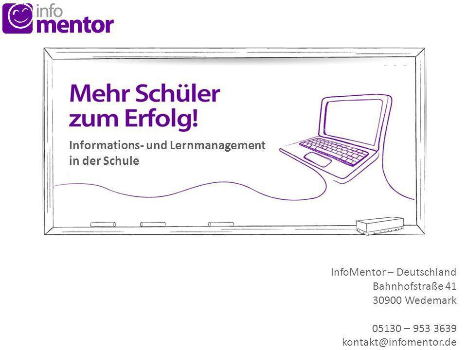 Informations- und Lernmanagement in der Schule