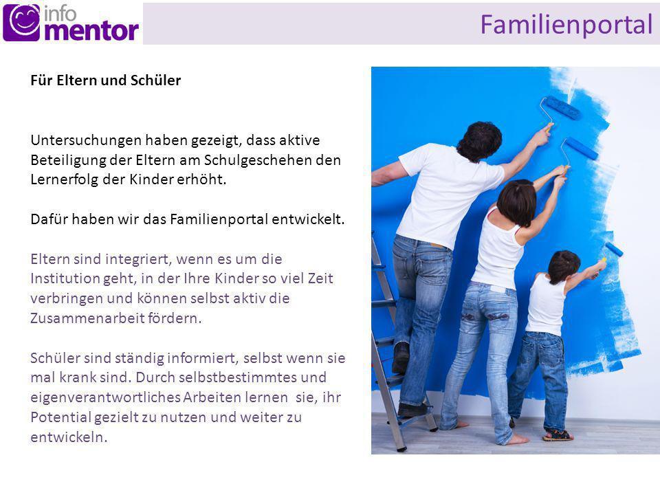 Familienportal Für Eltern und Schüler