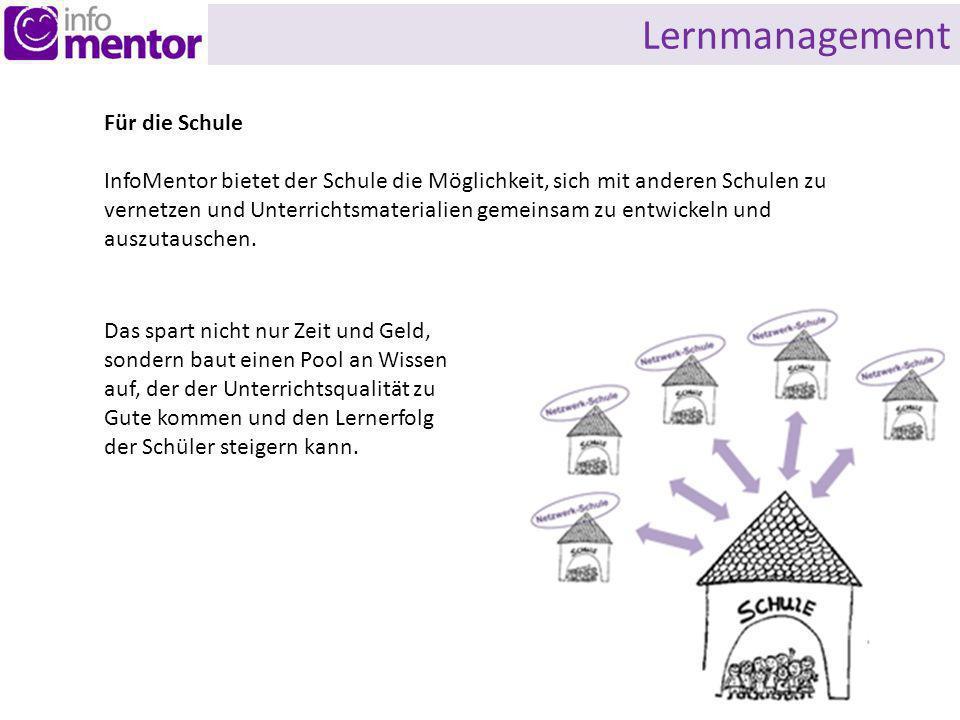 Lernmanagement Für die Schule