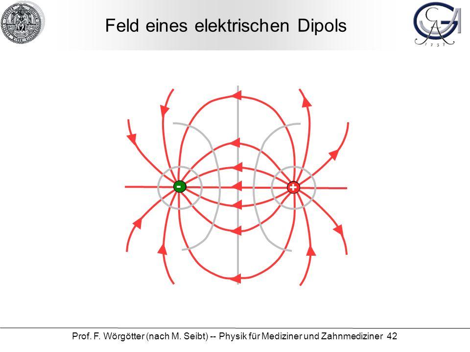 Feld eines elektrischen Dipols