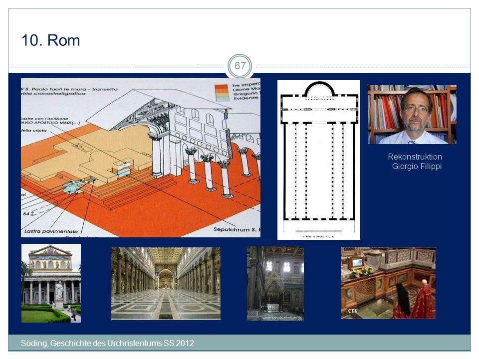 10. Rom Rekonstruktion Giorgio Filippi