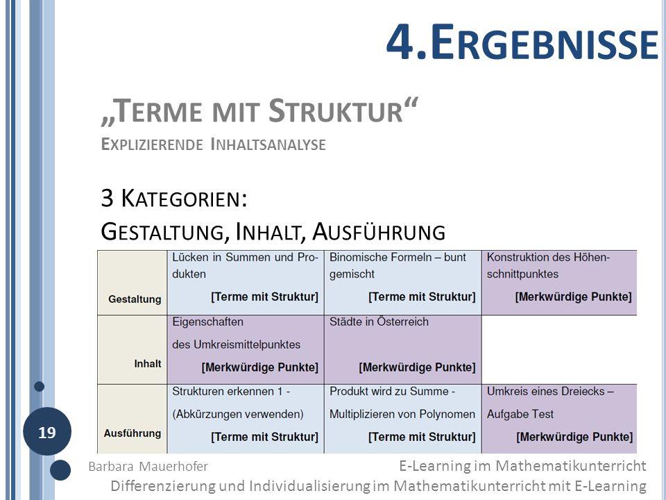 """4.Ergebnisse """"Terme mit Struktur 3 Kategorien:"""