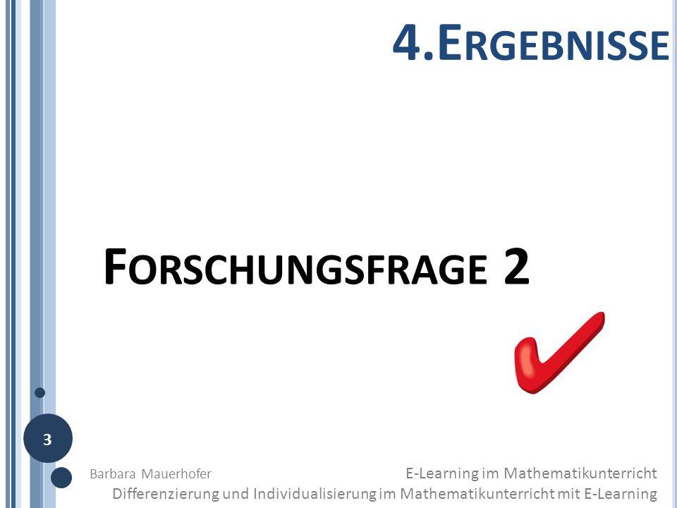 4.Ergebnisse Forschungsfrage 2 3