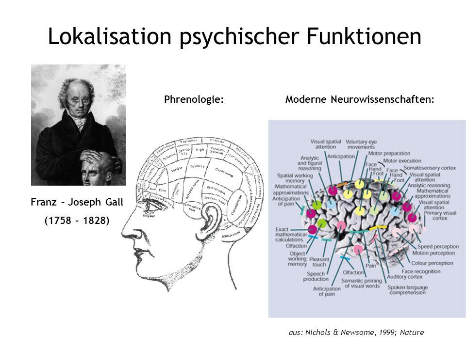 Lokalisation psychischer Funktionen