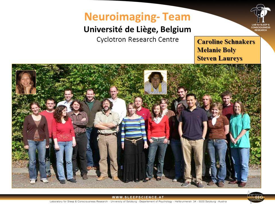 Neuroimaging- Team Université de Liège, Belgium Cyclotron Research Centre